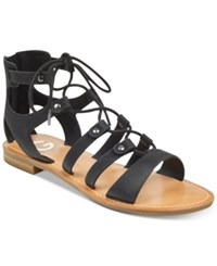 G By Guess Hotsy Flat Sandals Women's Shoes Black