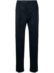 Gabriele Pasini Straight Leg Tailored Trousers Blue
