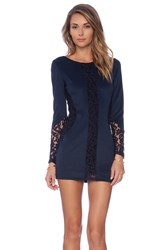 Boulee Heidi Dress Navy