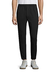 Revo Elastic Cuff Pull On Pants Black