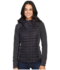 The North Face Endeavor Thermoball Jacket Tnf Black Tnf Black Heather Women's Coat