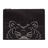 Kenzo Black Limited Edition Holiday A4 Pouch