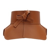 Loewe Tan Leather Obi Belt