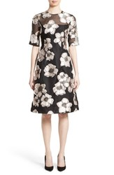 Lela Rose Women's Holly Fil Coupe Fit And Flare Dress