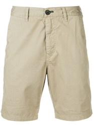 Paul Smith Ps Straight Leg Shorts Neutrals
