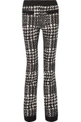 Moncler Grenoble Houndstooth Twill Ski Pants Black