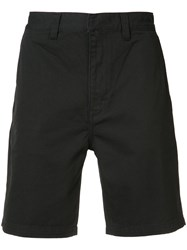 Wesc Rai Shorts Men Cotton 34 Black