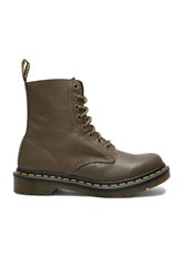 Dr. Martens Pascal 8 Eye Boots Army