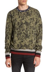 Eleven Paris Men's Elevenparis Jocker Print Sweatshirt