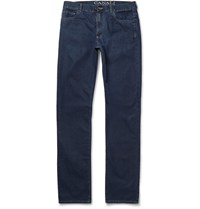 Canali Super Lightweight Denim Jeans Blue