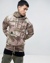 Cayler And Sons Overhead Hoodie In Camo Pink