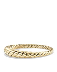 David Yurman 9.5Mm Pure Form Large Cable Bracelet In 18K Gold