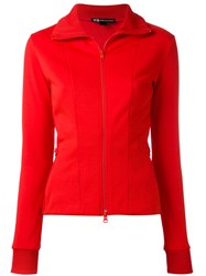 Y 3 Track Jacket Women Cotton Polyester S Red