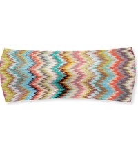 Missoni Chevron Knit Headband 3040 Snake Multi