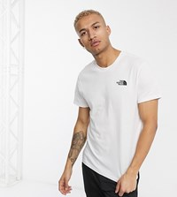 The North Face Simple Dome In White Exclusive At Asos