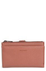 Matt And Nat Small Motiv Faux Leather Wallet Pink Clay