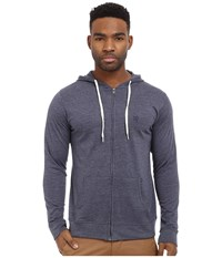 Matix Clothing Company World Zip Knit Blue Heather Men's Clothing