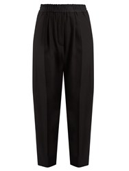 Haider Ackermann Berkeley High Rise Wool Trousers Black