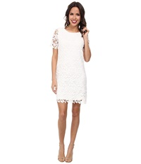 Kut From The Kloth Allover Lace Dress White Women's Dress