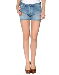 Mih Jeans Denim Shorts Blue