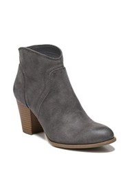 Fergalicious Clayton Oiled Fabric Zip Booties Denim Blue