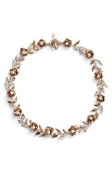 Marchesa Women's Enchanted Vines Collar Necklace