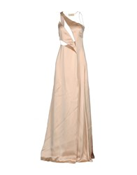 Gai Mattiolo Long Dresses Pink