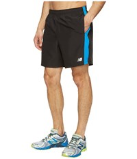 New Balance Accelerate 7 Shorts Electric Blue Black Men's Shorts