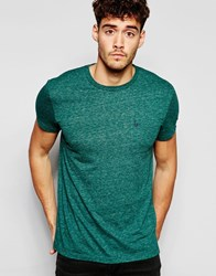 Jack Wills T Shirt With Pocket In Green
