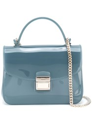 Furla Mini Candy Sugar Crossbody Bag Blue