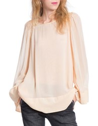 Plenty By Tracy Reese Jewelneck Peasant Top Buttercup