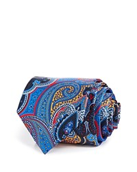 Bloomingdale's The Men's Store At Paisley Classic Tie Navy Multi