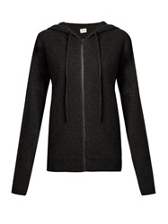 Le Kasha Jaipur Hooded Cashmere Sweater Charcoal