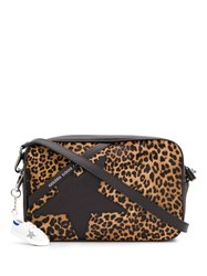 Golden Goose Leopard Star Cross Body Bag 60