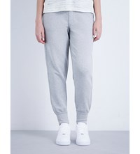 Whistles Luxe Jersey Jogging Bottoms Grey