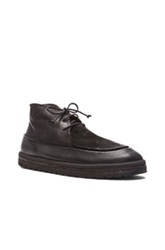 Marsell Marsell Platform Lace Up Leather Boots In Black