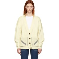 See By Chloe White Oversized Cardigan