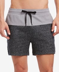 2Xist 2 X Ist Men's Colorblocked Terry Shorts Heather Grey