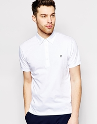 Peter Werth Jersey Polo Shirt White