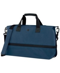Victorinox Werks Traveler 5.0 Carryall Drop Bottom Tote Navy Blue
