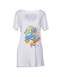 Dirtee Hollywood T Shirts White