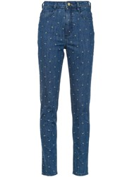 Spacenk Nk Fitted Jeans Blue