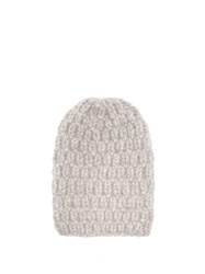 Lola Hats Hopscotch Alpaca Blend Beanie Grey