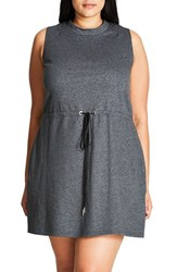 City Chic Plus Size Women's Tuesday Tunic Slate