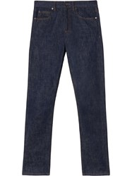 Burberry Straight Fit Jeans Blue