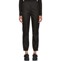 Prada Black Nylon Track Pants