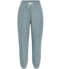 Lndr Astroid Cotton Jersey Trackpants Blue