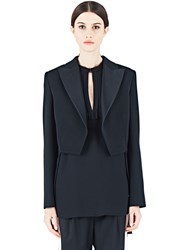 Lanvin Dinner Blazer Jacket Black
