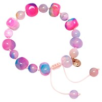 Lola Rose Sury Bracelet Candy Floss Agate