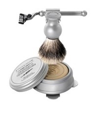 Czech And Speake Oxford And Cambridge Shaving Set And Stand